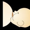 赤ちゃんの口の中